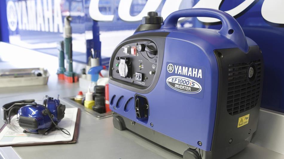 Генератор Yamaha EF1000 в Алзамае