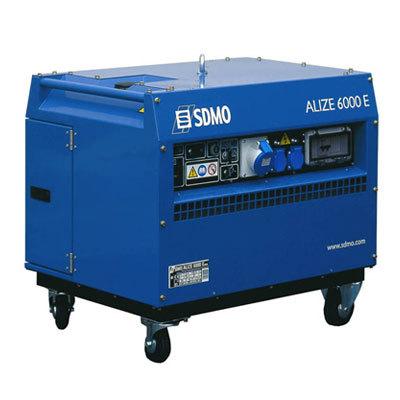 Генератор SDMO ALIZE 6000 E в Алзамае